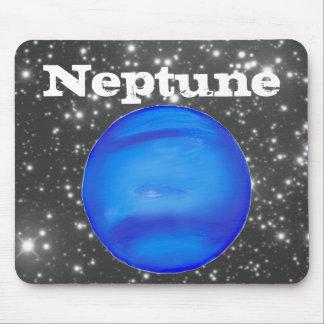 ネプチューン天文学の宇宙の青 マウスパッド