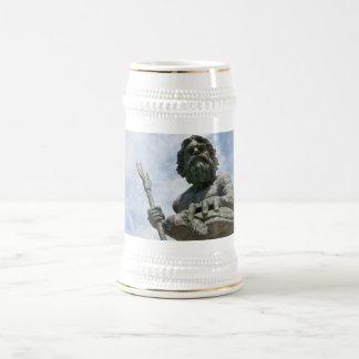 ネプチューンVirginia Beach王の彫像 ビールジョッキ