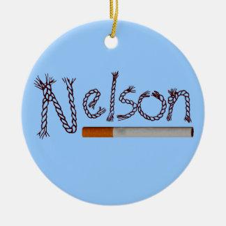 ネルソンのタバコ セラミックオーナメント