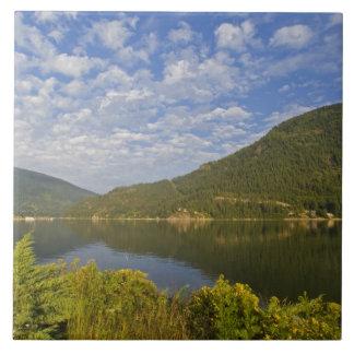 ネルソンブリティッシュ・コロンビアのKootenay湖 タイル