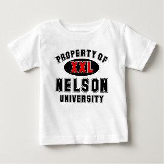 ネルソン大学の特性 ベビーTシャツ