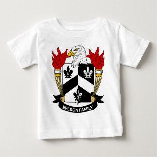 ネルソン家族の紋章付き外衣 ベビーTシャツ