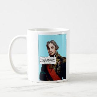 ネルソン海軍大将の漫画のマグ コーヒーマグカップ