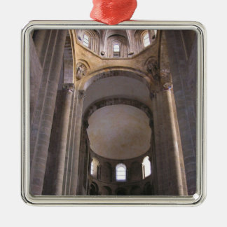 ネーブの眺め、c.1050 (写真) メタルオーナメント