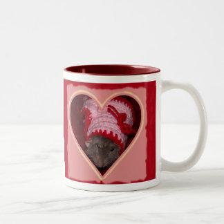 ノアのバレンタインのマグ ツートーンマグカップ