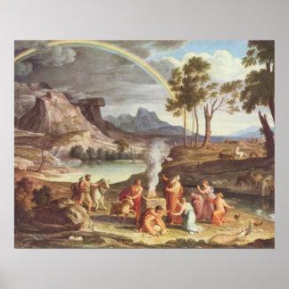 ノアの提供を用いる景色 ポスター
