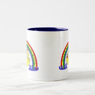 ノアの箱舟のコーヒーのマグ ツートーンマグカップ