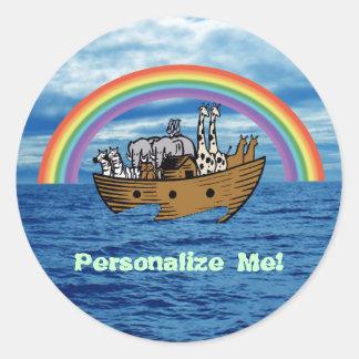 ノアの箱舟及び虹 ラウンドシール