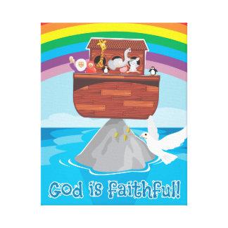 ノアの箱舟 キャンバスプリント
