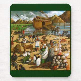 ノアの避難所: 元の絵画 マウスパッド