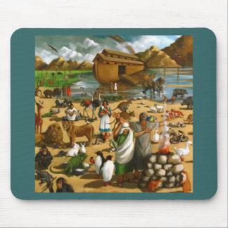 ノアの避難所: 元の絵画: 洪水の後 マウスパッド