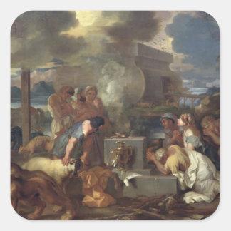ノア、c.1640の犠牲 スクエアシール
