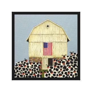ノアSnyderの25頭のすべてのアメリカ人牛 キャンバスプリント