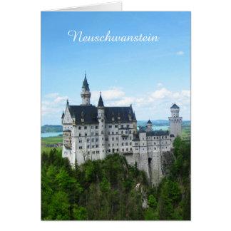 ノイシュヴァンシュタイン城のパノラマ カード
