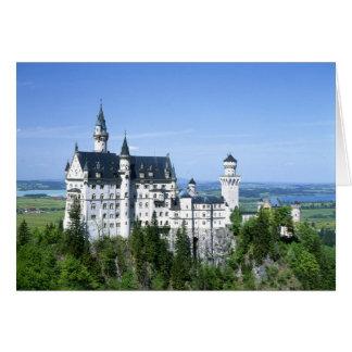 ノイシュヴァンシュタイン城の城のババリア カード