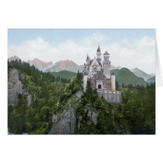 ノイシュヴァンシュタイン城の城の石版 カード