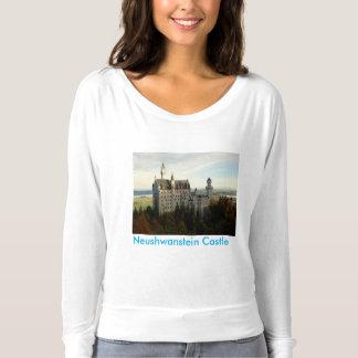 ノイシュヴァンシュタイン城の城のTシャツ Tシャツ