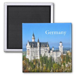 ノイシュヴァンシュタイン城の城ドイツ マグネット