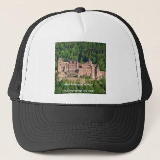 ノイシュヴァンシュタイン城の城ブランクフルト及びドイツの引用文 キャップ