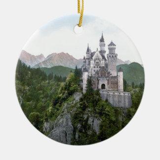 ノイシュヴァンシュタイン城の城5 セラミックオーナメント