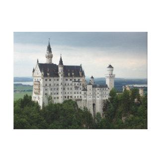 ノイシュヴァンシュタイン城の城 キャンバスプリント