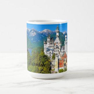 ノイシュヴァンシュタイン城の城-コーヒー・マグ コーヒーマグカップ
