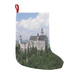 ノイシュヴァンシュタイン城の城 スモールクリスマスストッキング