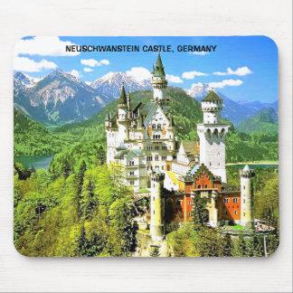 ノイシュヴァンシュタイン城の城、ドイツ マウスパッド
