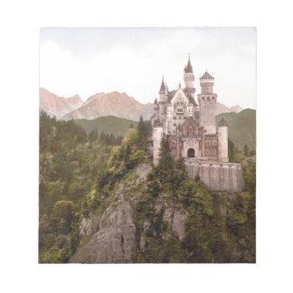 ノイシュヴァンシュタイン城の城 ノートパッド