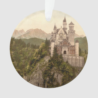 ノイシュヴァンシュタイン城の城、ババリア、ドイツ オーナメント
