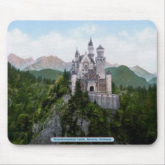 ノイシュヴァンシュタイン城の城、ババリア、ドイツ マウスパッド