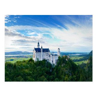 ノイシュヴァンシュタイン城の城 ポストカード