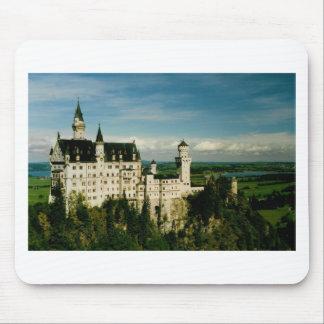 ノイシュヴァンシュタイン城の城 マウスパッド