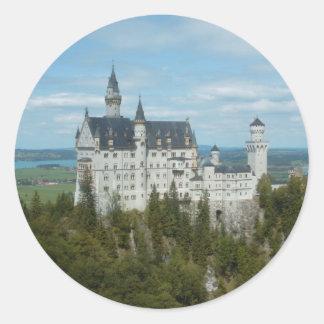 ノイシュヴァンシュタイン城の城- Schlossノイシュヴァンシュタイン城 ラウンドシール