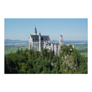 ノイシュヴァンシュタイン城: おとぎ話の城 ポスター