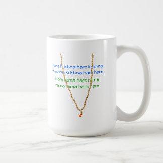 ノウサギのKrishna Malaの数珠のマグ コーヒーマグカップ