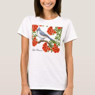 ノウゼンカツラのワイシャツのエボシガラ Tシャツ