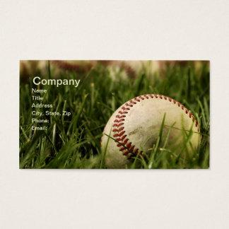 ノスタルジックな野球 名刺