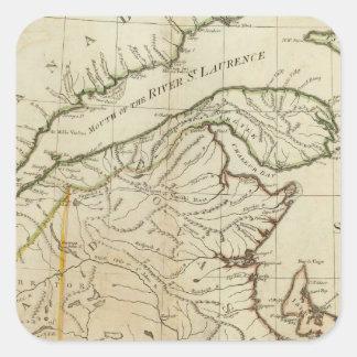 ノバスコシアおよびケープ・ブレトン島の新しい地図 スクエアシール