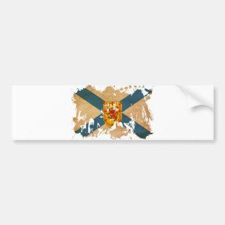 ノバスコシアの旗 バンパーステッカー