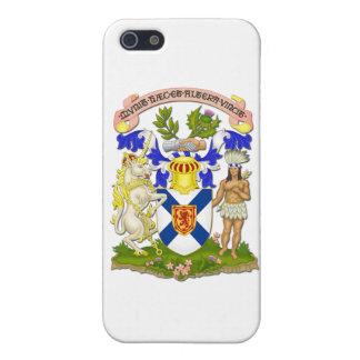 ノバスコシアの紋章付き外衣 iPhone 5 カバー