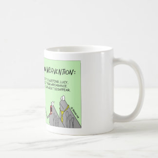 ノミ家族は介在を保持します コーヒーマグカップ