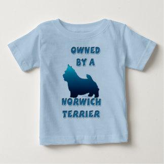 ノリッジテリアによって所有される ベビーTシャツ