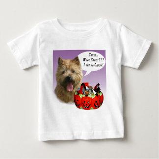 ノリッジテリアのハロウィンキャンデー ベビーTシャツ