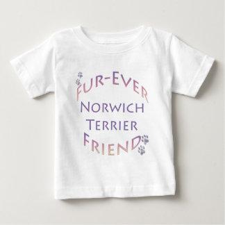 ノリッジテリアFurever ベビーTシャツ