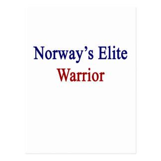 ノルウェーのエリートの戦士 ポストカード