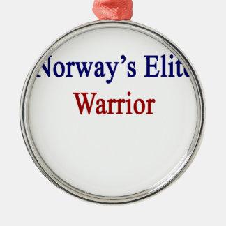 ノルウェーのエリートの戦士 メタルオーナメント