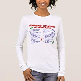 ノルウェーのエルクハウンドの特性の法律2 長袖Tシャツ