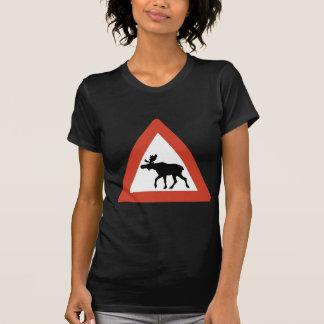 ノルウェーのオオシカ Tシャツ