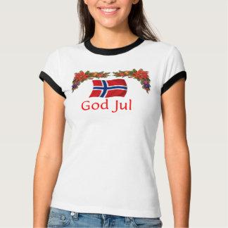 ノルウェーのクリスマス Tシャツ